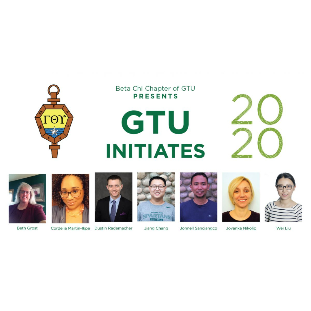 2020 Beta Chi Chapter of GTU Initiates