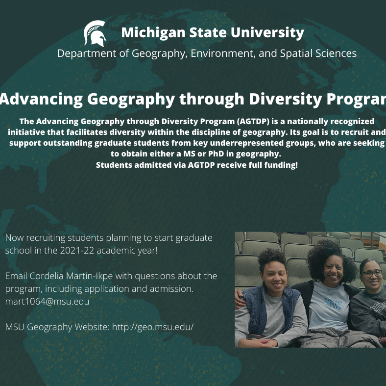 Advancing Geography Through Diversity Program